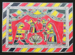 Bihula-Bala Painting in Manjusha Art