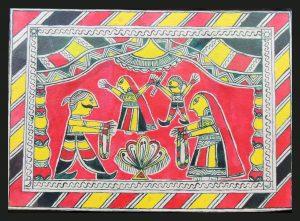 Bihula-Bala Painting in Manjusha Art