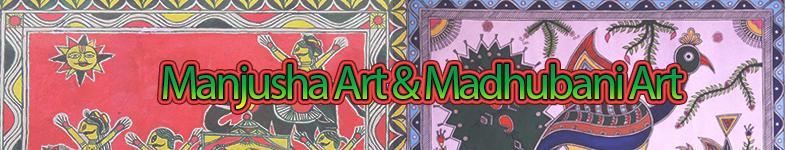 Manjusha & Madhubani Art