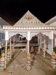 Manjusha Art Design - Wedding Mandap