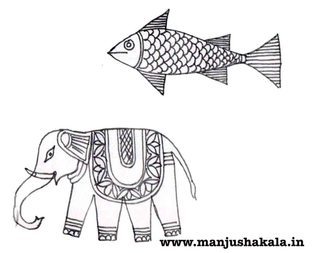 Elephant and Fish
